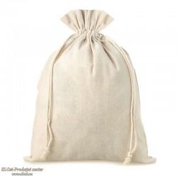 Lanena vrečka 14x11 cm, 100% naravna