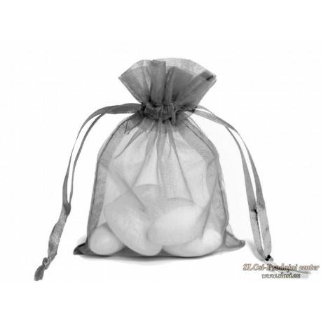 Prosojna tkana vrečka 23x15 cm