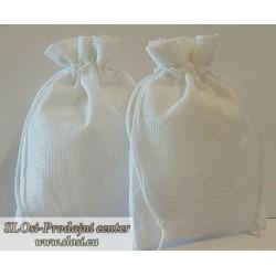 Juta vrečka-fino tkanje 23x15 cm