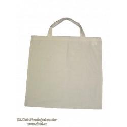 Bombažna nosilka, kratek ročaj, 50x50 cm, natur