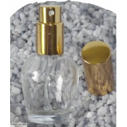Parfumska steklenička, 10ml,K-zlata