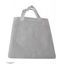 Nakupovalna PP 22x26 cm, kratek ročaj, bela