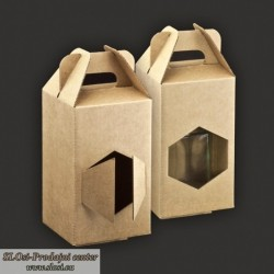 Kartonska nosilka za kozarce 720 ml