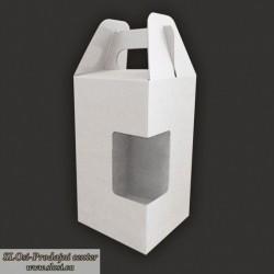 Nosilna embalaža z oknom 100 x 100 x 195 mm