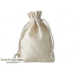 Lanena vrečka 15x10 cm, tanka, 100% naravna